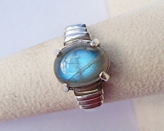 Labradorite Sterling silver Ring Size 6.25 WAS 70.00 On SALE 60.00