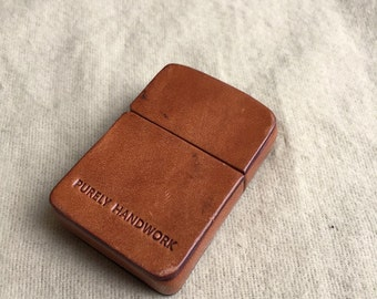 Leather Case for Zippo Lighter
