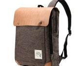 Tweed Backpack(Brown)