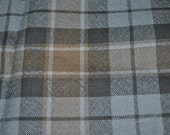 Graham of Menteith Weathered tartan Fabric. 100% 8oz Pure New Wool. Remnant Piece.