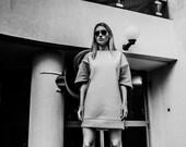 ON SALE-Neoprene sweater dress