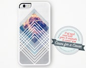 Outer Space iPhone Case / Geometric Galactic iPhone 4 Case Galactic iPhone 5 Case Space iPhone 5 Case Geometric iPhone 5C Case