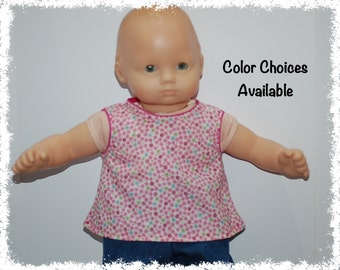 "Sleeveless Top 15"" Doll (Bitty Baby 15"" Doll)"
