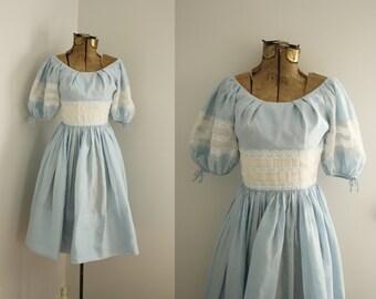 1960s dress | vintage 60s cotton dress