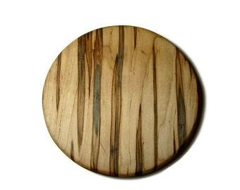 Round Maple Cutting Board, Maple Wood Cutting Board, Round Cutting Board, Hot Plate, Trivet, Small Gift