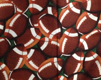Football and Fun Print Bag Holder/Collector