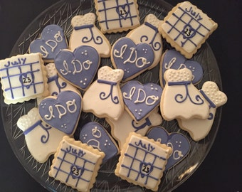 Wedding Favor Cookies (2Dozen)