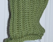 Custom Woodland Hood in Moss Green for Rebecca