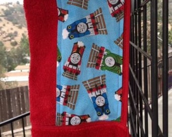 Thomas the Train Hooded Towel, Red