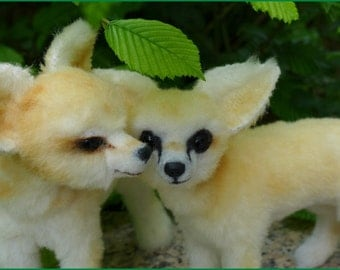 Fennec Fox Instruction with 77 pages and pattern ebook by Furry Critters