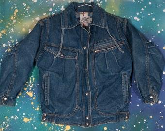 CURRENT SEEN  Denim Jacket Coat Size S