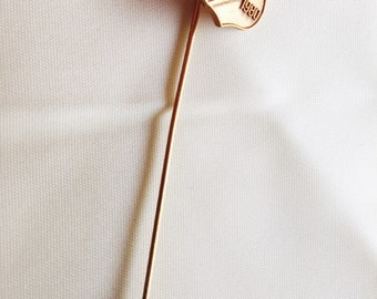 Stick pin from the 1980 Olympics.