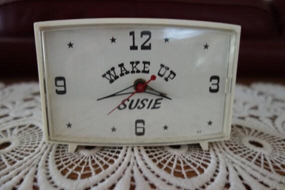 Vintage Alarm Clock Robert Shaw Lux Alarm Clock Bedroom