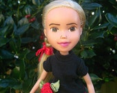 The New Year's Eve Doll, Drollerie Doll, bratz makeunder + repaint