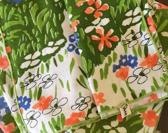 1960's Vintage Vera Napkins Set of 8 Floral