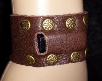 Custom fit Fitbit Flex leather arm bands wristband