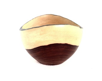 Wood Bowl No.160615- Coyote Natural Edge