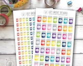 Pill Bottles, Mini or Small, With or Without Border - Perfect for Erin Condren, Limelife, Mambi and Plum Paper Planners