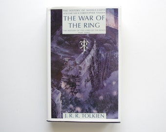The Return of the Shadow - History of Middle Earth Volume VI - J.R.R. Tolkien - First Edition, Pristine Condition