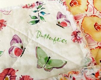 Rag Blanket for Adult Teen or Child - Joy