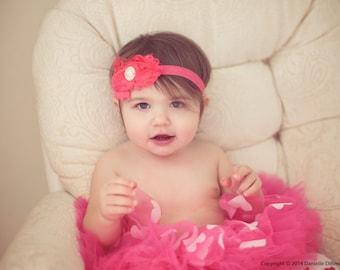 Flower Headband, MANY COLORS and STYLES, Baby Headband, Headbands for Girls, Womens Headband, Hair Bows, Hair Clips, Toddler Headband