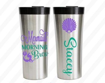 Mermaid coffee mug - Mermaid coffee cup - Mermaid mug - Mermaid cup - Mermaid morning brew™ Coffee mug 16oz. - Mermaid gift - mermaid adult