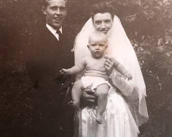 So When Are You Having Kids? Asked No One Ever At Bob & Carol's Wedding Vintage Photo
