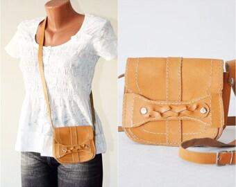 Small Genuine Leather Purse Handmade Vintage Bag