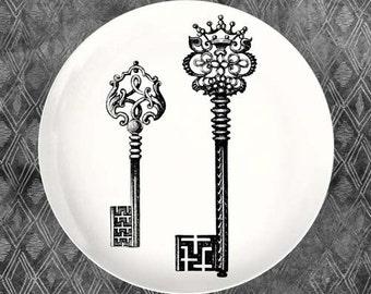 keys melamine plate