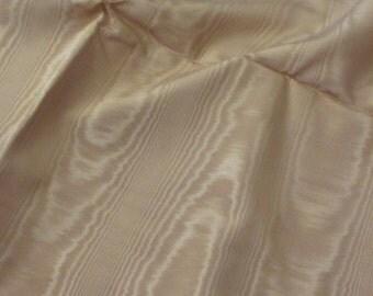 "Fabric Solid Orange Light Rust Moire Fabric Yardage - 48"" x 128"" 3 yards total"
