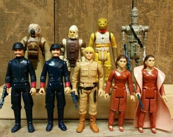 Star Wars action figures: the empire strikes back