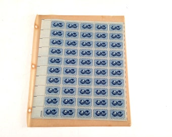 Atoms for Peace 1955 3 cent Stamps