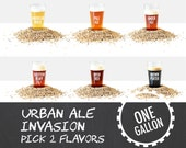 Urban Ale Invasion / Pick Two / 1 Gallon Beer Recipe Kits