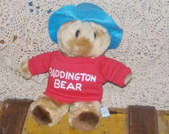 Paddington Bear, Eden Toys Paddington Stuffed Plush  Bear 1981, Vintage Teddy Bear, Vintage Bear, Vintage Stuffed Toys, :)s
