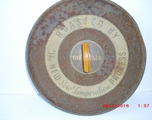 "rusty Art Deco ""Thermalo"" lid with Bakelite knob"