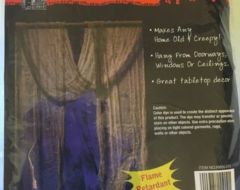 30 x 96 inch gray creepy cloth, (HR49)