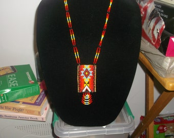 native american necklace,