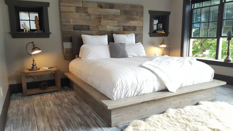 1 - Driftwood Bed Frame