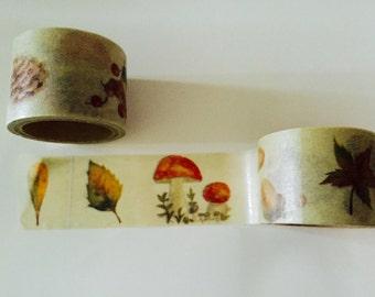 Fall Autumn Washi Tape