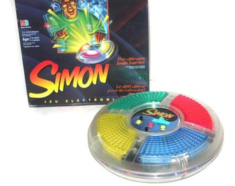 Vintage 1994 Simon Electronic Game, Antique Alchemy