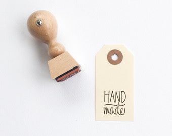 Handmade Rubber Stamp - hand lettered stamp - handmade - mini handmade stamp - READY TO SHIP
