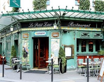 Saint Germain Le Petit Zinc Paris France Fine Art Photography Home Decor Print Travel Photo Wall Art