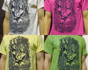 WOOD NYMPHS- %100 cotton t-shirt