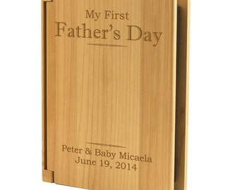 Personalized First Father's Day Photo Album