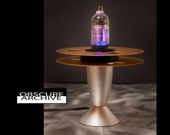 Ultra Cool Space Age Vacuum Tube Lamp - Industrial Lamp - Custom Steampunk Lamp 107