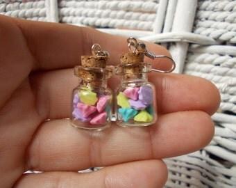 earrings candy