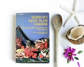 Vintage 1960s Polynesian Cookbook - Trader Vic's Pacific Island Cookbook - Nautical Kitchen Decor, Tiki, Exotic Vacation Gifts for Newlyweds