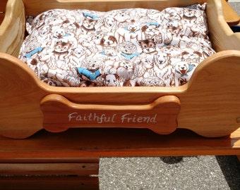 Faithful Friend Dog Bed