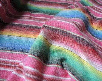 vintage 1980s cotton flannel fabric striped westwood fabrics BTY
