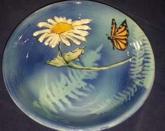 """Small Bowl-""""Charmed""""  5""""x1-1/2"""""""